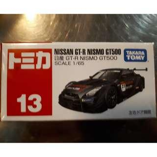 Tomica 13 Nissan GT-R Nismo GT500 Takara Tomy Hotwheels Rare