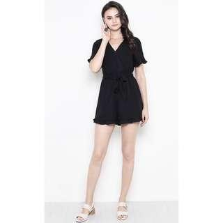 🚚 SSD Geogina Playsuit Black (XS)