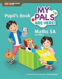 My Pals 5A maths text book