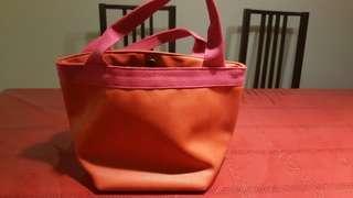 Japanese bucket hand carry bag