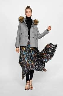 Zara Three Quater Length Coat