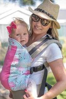 ebeaaea5c57 Kinderpack Kindercarry Go Flamingo Infant Carrier