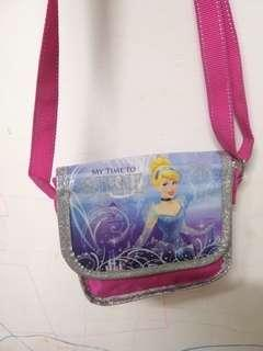 Cinderella cute small sling bag
