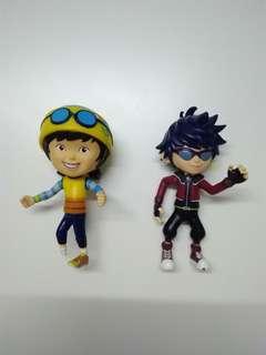 BoboiBoy Ying & Feng figures, set of 2 (100% Authentic)
