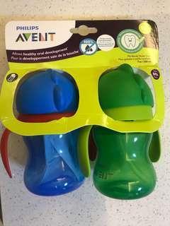 Avent straw bottle