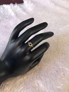 18K japan style diamond ring