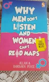 Why men dont listen and women cant read maps -Allan & Barbara Pease