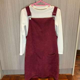 Pinafore dress/ overall/ jumpsuit