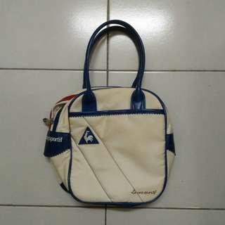 "Le Coq Sportif Mobile / Small Bag - can fit 15pcs 7"" record"