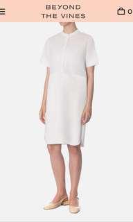 c98b6d26ff Collate the label bonded satin peplum tube dress in black (BNWT ...