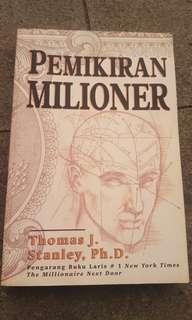 Buku morivasi Pemikiran Milioner bestseller bisnis- Thomas J dan Stanley