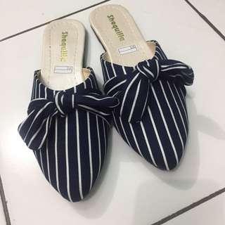 Flatshoes/slip on blue