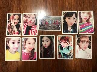 (WTS) Twice Signal Pre order benefit Photocard
