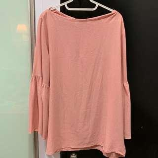 Shimmery Pink Saloma Blouse