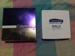 Celeteque Dual CC Matte Powder in Golden Beige