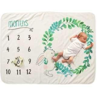 NEW Baby Milestone Blanket