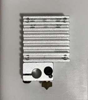 3D Printer 3D printing Nozzle 0.4mm heat exchanger tube set Additive manufacturing FDM Prusa