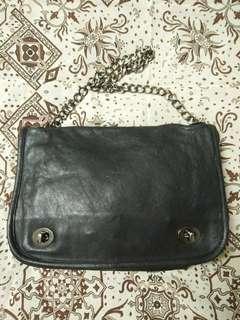 bag kulit tali rantai