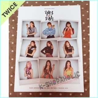 TWICE - 6th Mini Album ' YES OR YES ' ( B version )