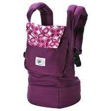 Bundle Deal Ergobaby Carrier Mystic Purple Bundled with Toys R Us (Babies R Us) Pram/Car Seat Strap Cushions Both in ExcellentCondition Authentic Product