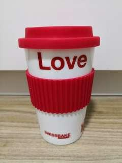 SwissBake Glass Coffee Cup