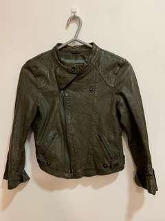Blue Heroes Leather Jacket XS