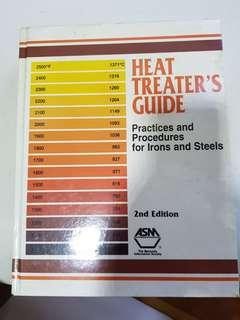 Heat Treater's Guide: Practices and Procedures for Irons and Steels  Book by Harry E. Chandler