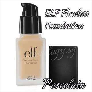 INSTOCK ELF Studio Flawless Finish Foundation - NATURAL (porcelain) / e.l.f. Cosmetics Flawless Foundation in PORCELAIN (renamed Natural)
