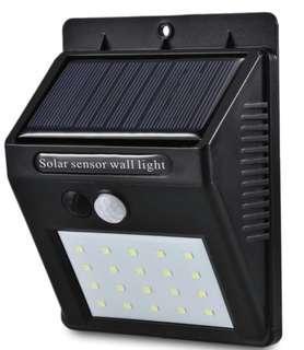 🚚 Solar Power 20 LED wall light