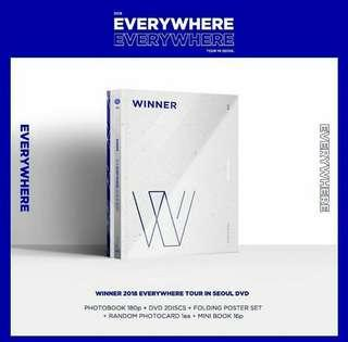 [Pre-order ] WINNER 2018 EVERYWHERE TOUR IN SEOUL DVD