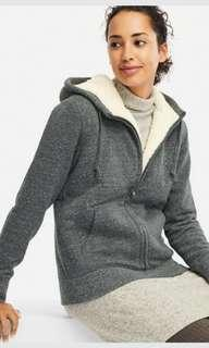 PROMO!!Brand new Grey sweater with fleece lining from UNIQLO