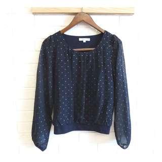 🚚 日本品牌 KLEIN PLUS + 知性柔美雪紡衫 38