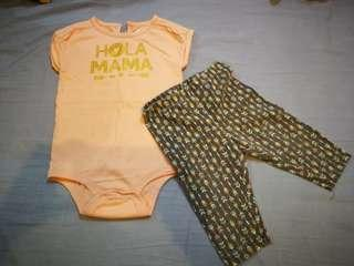 Preloved onesie set