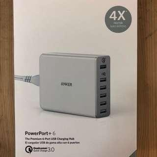 Anker PowerPort6+ QC3.0 Charger