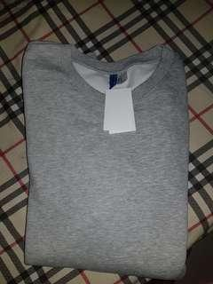 H&m sweater original grey