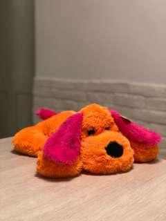 全新景品限定公仔figure - Orange and Pink Dog 橙紅色趴地狗仔