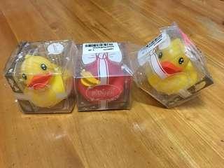 正品 B duck 浮鴨 3只