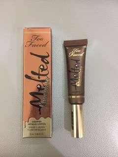 too faced chocolate lip tint