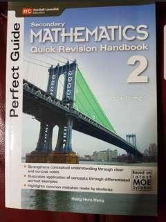 Sec 2 Maths Quick Revision Handbook