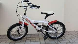 16in lovely looking children bicycle - chopper-like styling!