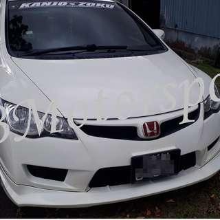 Honda Civic FD TypeR Bodykit Set With Spray Color