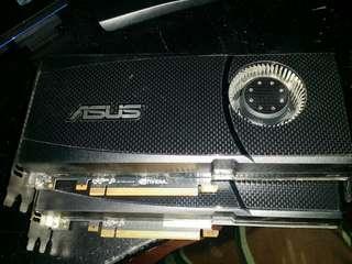 Asus GTX 470 1280MB with sli bridge