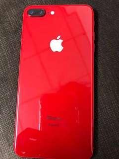🚚 超級新!Iphone8plus 限量紅 64g 保固長