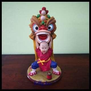 Chinese Lion Dance Figurine