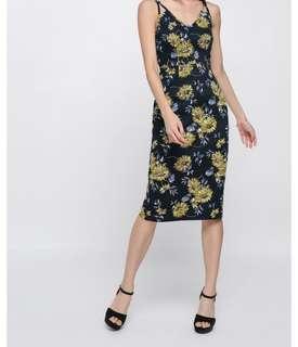 Love Bonito Favira Floral Midi Dress - XL