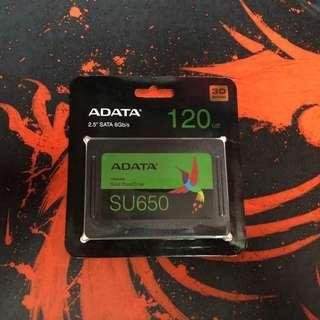 AData SSD 120GB 3D Nano SU650