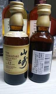 全新山崎12年酒版  50ml 5支
