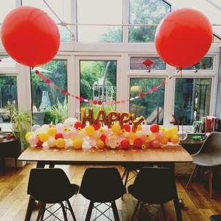Mini Table Balloon Garland (2m)