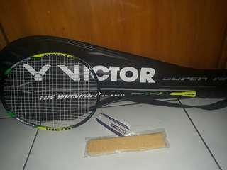 Raket Badminton Victor Type Onigiri Hijau