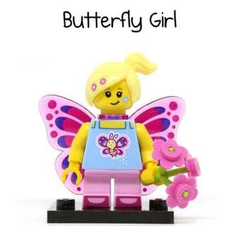 Lego Series 17 Butterfly Girl 71018 Minifigures